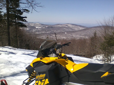 Sunny Day in the High Country of Chittenden